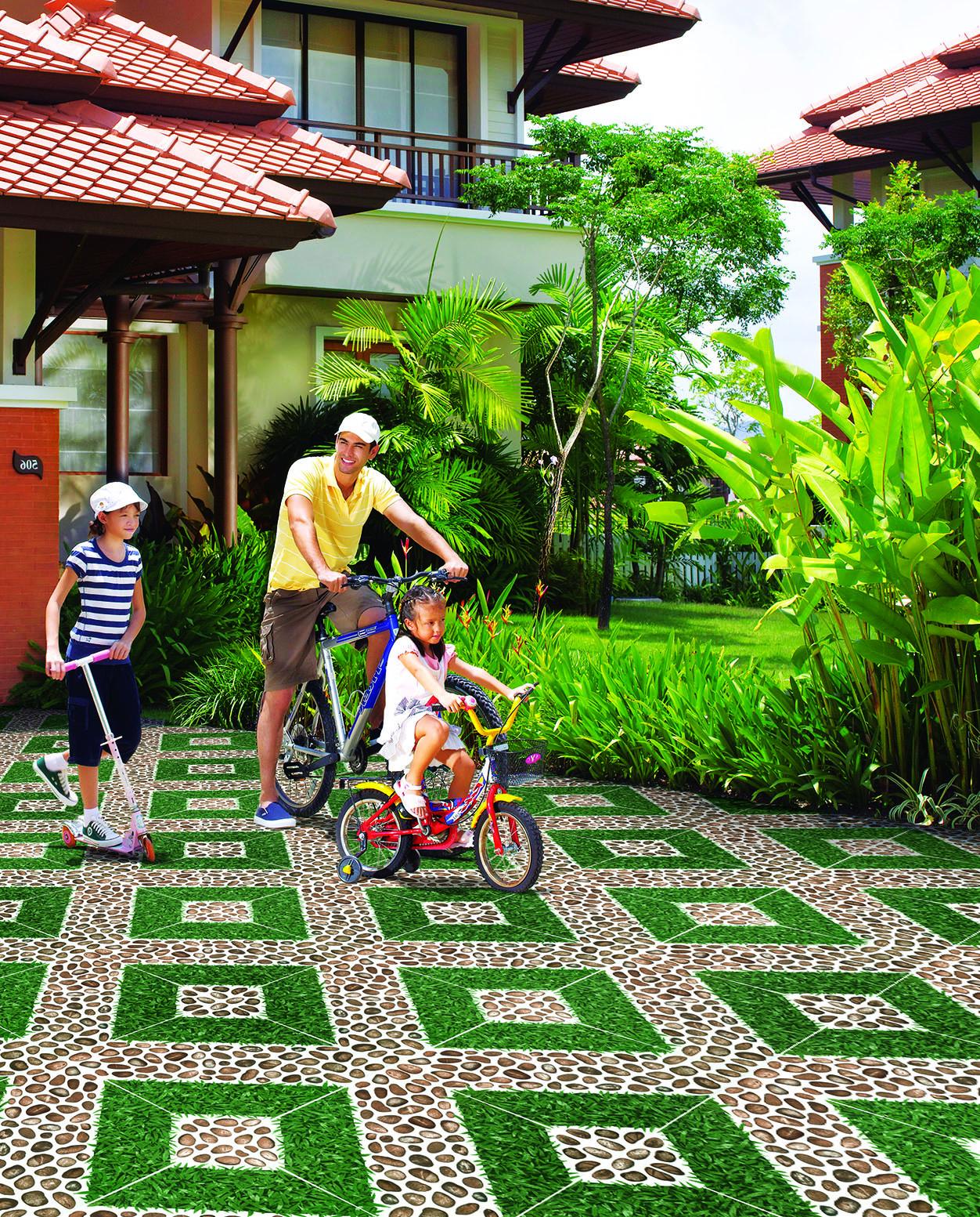 Gạch cỏ viglacera giải pháp tối ưu cho sân vườn của bạn