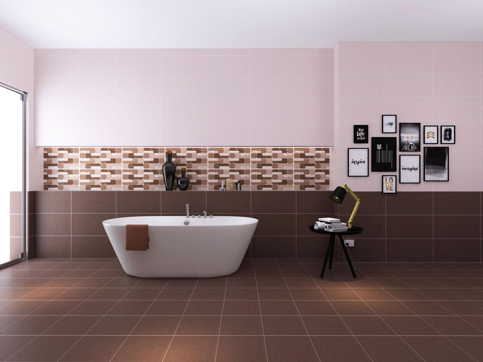 Chọn gạch ốp tường toilet, nhà tắm như thế nào?