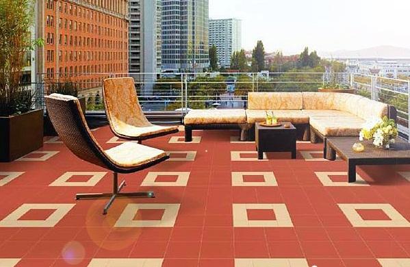 Những điều cần chú ý khi chọn gạch lát sân thượng